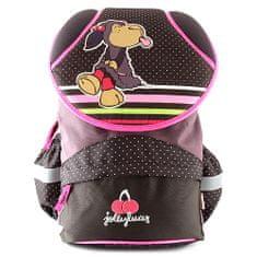 NICI iskolai hátizsák, barna, egy juh