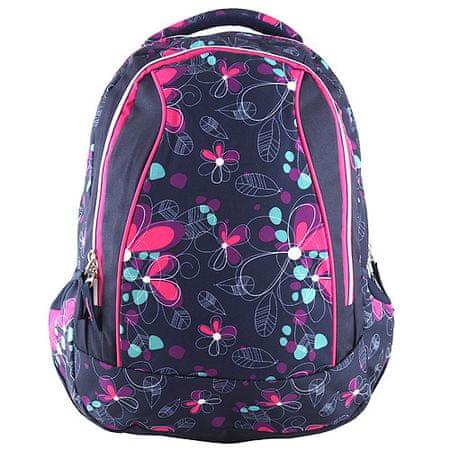 Target Plecak docelowy dla studentów, Kolorowe kwiaty