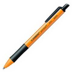 Stabilo Kuličkové pero , Pointball, 0.5 mm, černé