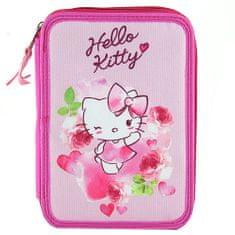 Hello Kitty Školní penál s náplní Target, , barva růžová