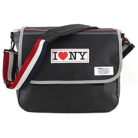 Target Docelowa torba na ramię, Kocham NY, kolor czarny