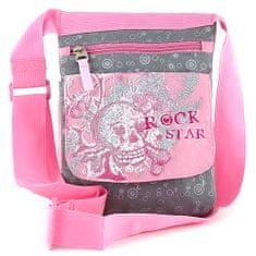 Target Docelowa torba na ramię, różowy