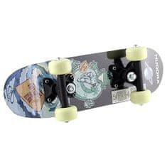 Hudora Mini skateboard Hudora, motív ufóna a taniera, 42,5 x 12,5 cm
