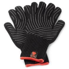 Weber Grilovací rukavice L/XL, sada 2 ks , se silikonovou plochou (L/XL), černé