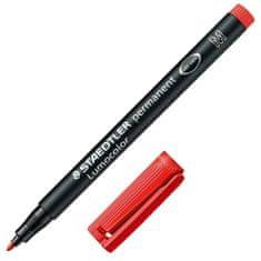 Staedtler Popisovač , červený, permanentný, šírka hrotu 1 mm