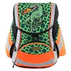 Target Školní aktovka , T-Rex - reflexní, zelená