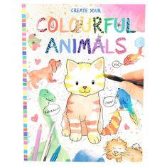 Create Your Maľovanky , Farebné zvieratká