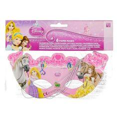 Procos Párty masky Procos, Disney Princess, 6 ks