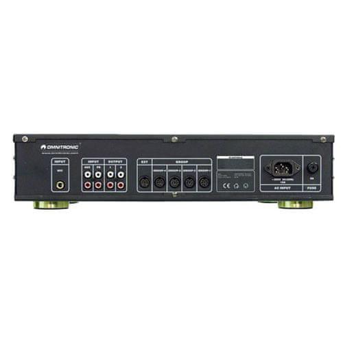 Omnitronic Zesilovač , CPA-5200, zesilovač pro konferenční mikrofonní sy