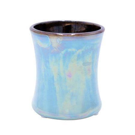 Woodwick Keramična ovalna vaza za sveče , Figov list in tuberoza, 133,2 g