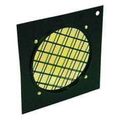 Eurolite Filtr Eurolite, Dichrofilter PAR 64 żółta, czarna ramka