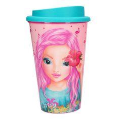 Top Model Pohár na pití ASST, Christy, růžový, 350 ml