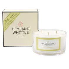 Heyland & Whittle Svíčka dekorativní váza , Divoká citrónová tráva, 480 g