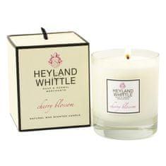 Heyland & Whittle Svíčka skleněná váza , Třešňový květ, 230 g