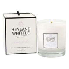 Heyland & Whittle Svíčka skleněná váza , Jasmín a šeřík, 230 g
