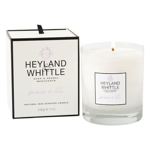 Heyland & Whittle Sviečka sklenená váza , Jazmín a orgován, 230 g