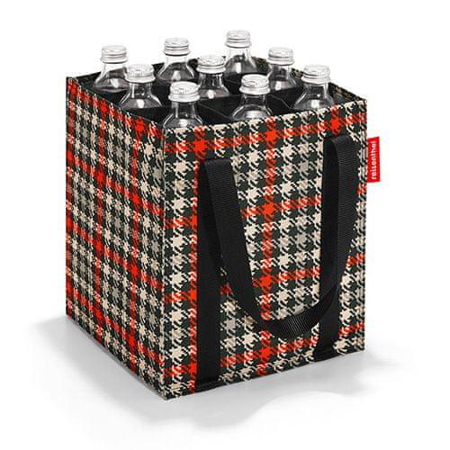 Reisenthel Taška na fľaše , Čierno-červená s motívom päťdesiatok | bottlebag