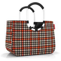 Reisenthel Nákupní taška , Černo-červená s motivem padesátek   loopshopper L
