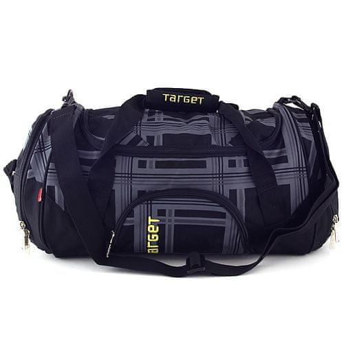 Target Cestovná taška Target, čierno-sivá