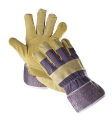 Cerva Kožené kombinované pracovní rukavice Tern, mechanické-univerzální