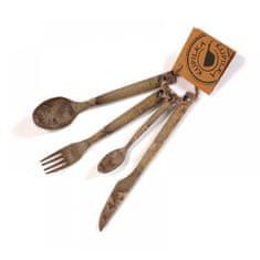 Kupilka 30250251 CUTLERY Fork, knife, spoon, teaspoon Brown