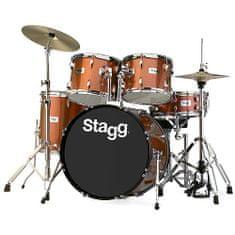 "Stagg Sada bicích , 22"", hnědá perleť"