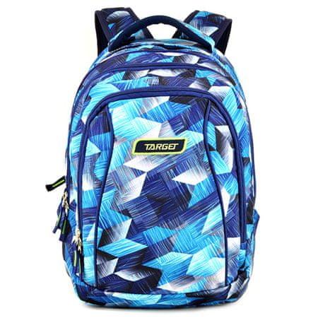 Target Plecak szkolny 2w1 , Niebieski z wzorem