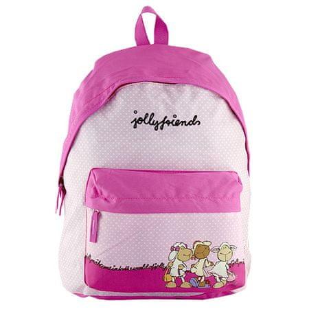 Nici Dětský batoh , růžový s puntíky