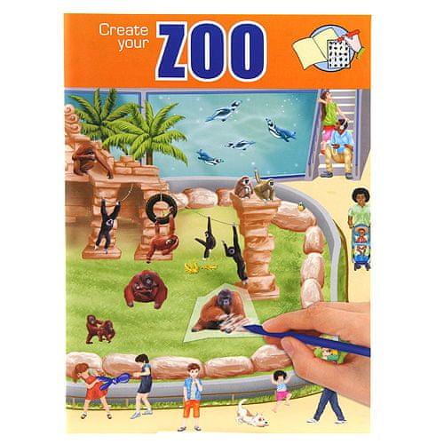 Create Your Omalovánky, kreativní sada ASST, Zoo