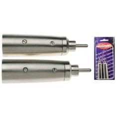 Stagg Csatlakozó , XLR aljzat adapter - RCA aljzat