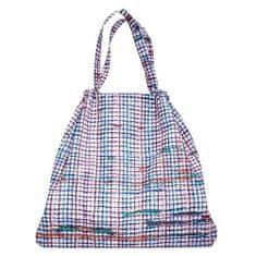 Reisenthel Skládací taška , Bílá s barevnými proužky | mini maxi loftbag