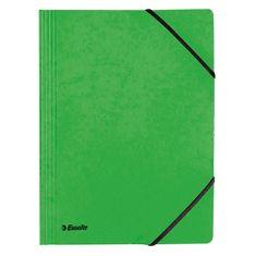 Esselte Prešpánové dosky Esselte, A4, Rainbow, zelené