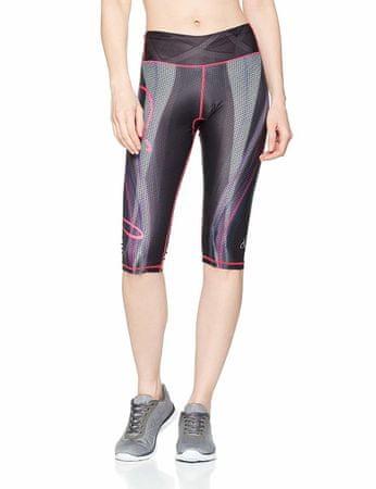 Anarchy Apparel Női sport 3/4-es nadrág Capri Compression Plazma nadrág, XS méretű