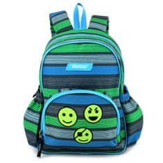 Target Batůžek , Smajlíci, zeleno-modro-šedý