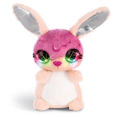NICI Plišasti zajček , Tofflemoffle, z LED diodami, 12 cm