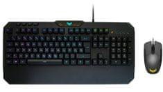 Asus TUF Gaming Combo, USB tipkovnica in miška, SLO
