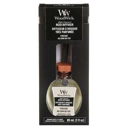 Woodwick Aroma diffúzor , Tűz a kandallóban, 89 ml