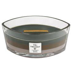 Woodwick Svíčka Trilogy WoodWick, Útulný srub, 453.6 g