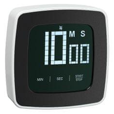 WMF Digitální časovač , Černo-bílý, plastový