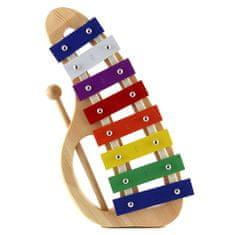 Stagg Metalofon , oválný, 8 barevných kamenů