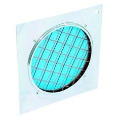 Eurolite Filtr , Dichrofilter PAR-56 niebieska, srebrna rama