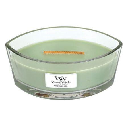 Woodwick Świeca ozdobny wazon , Wierzba i mech, 453,6 g