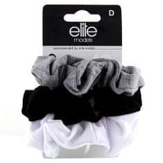 Elite Models Gumičky látkové 3ks , 3ks, tři barvy, průměr 7cm