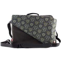 Target Docelowy plecak podróżny, czarny / zielony, z ozdobami