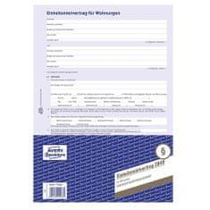 Avery Zweckform Nájemní smlouva DE , 2849 pro pronájem bytů, A4, 4 stranná