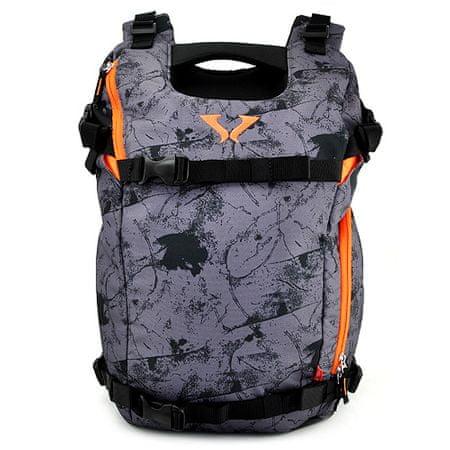 Target Ciljni športni nahrbtnik, Viper XT, oranžno-siva z vzorcem
