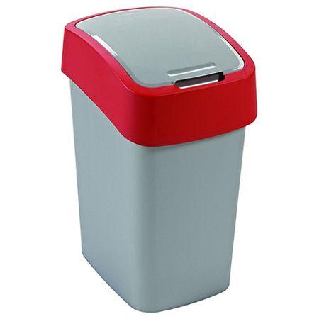 Curver Zaboj za smeti , praktičen koš za smeti - sodoben tanek dizajn - trendovske barve