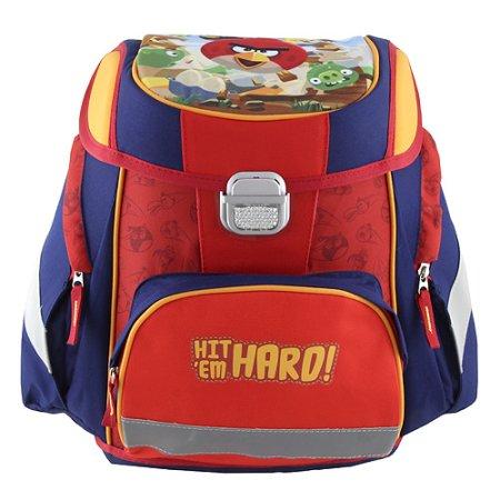 Target Cél iskolai táska, Dühös madarak, vörös-kék