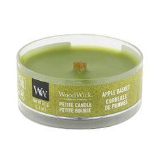 Woodwick Drobná sviečka WoodWick, Košík jabĺk, 31 g