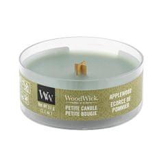 Woodwick Drobná sviečka WoodWick, Jabloňové drevo, 31 g